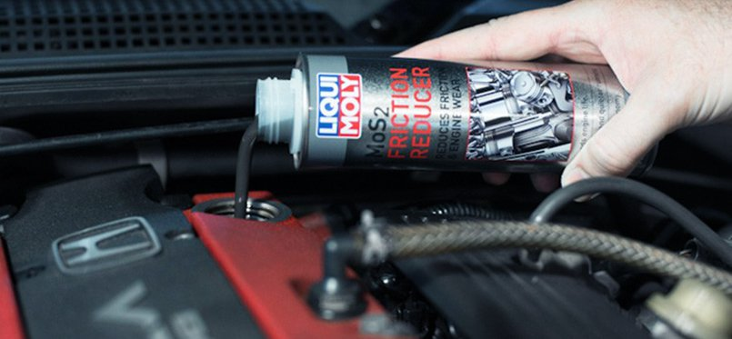 Product Overview: LIQUI-MOLY MoS2 Friction Reducer, | Sparesbox